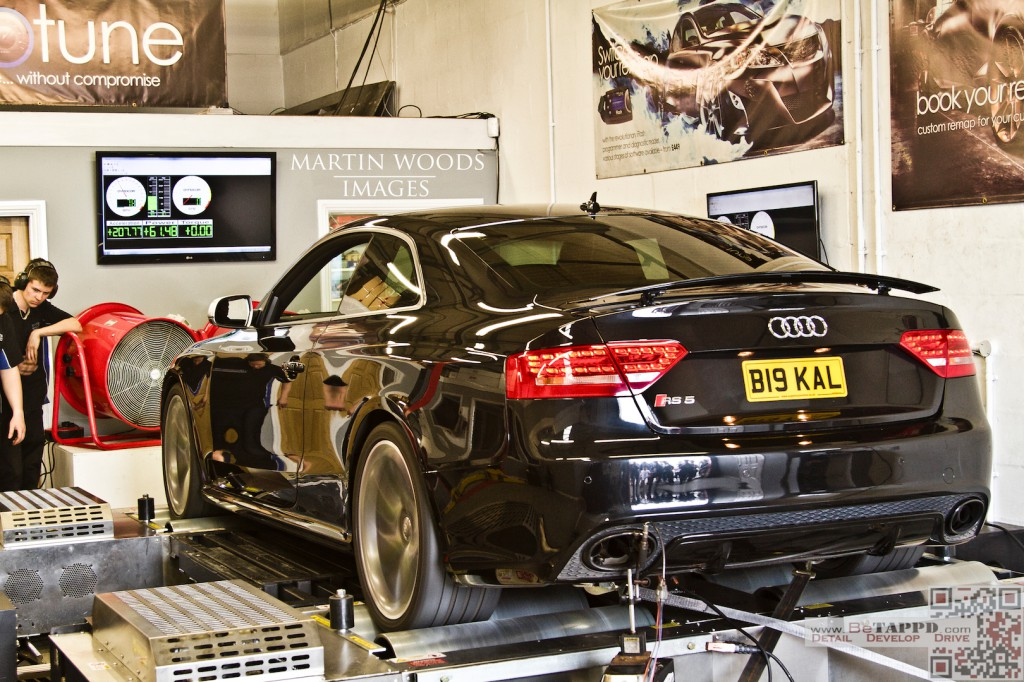 We'll be pushed to have a car sounding better on the rollers thank Kal's RS5 from last time