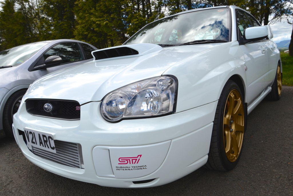 Andy's JDM Impreza drew a lot of attention (and a prize!)