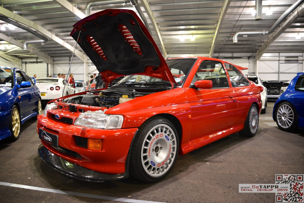 Stu's Ford Escort RS Cosworth was a taste of oldskool performance