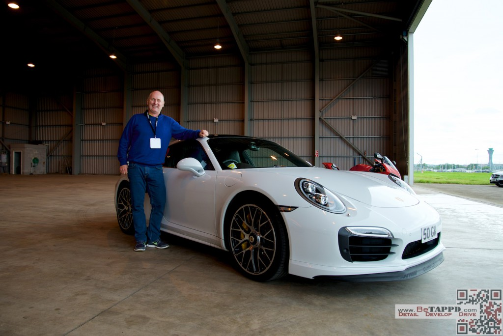 Graham was triumphant in his epic 991 Turbo S