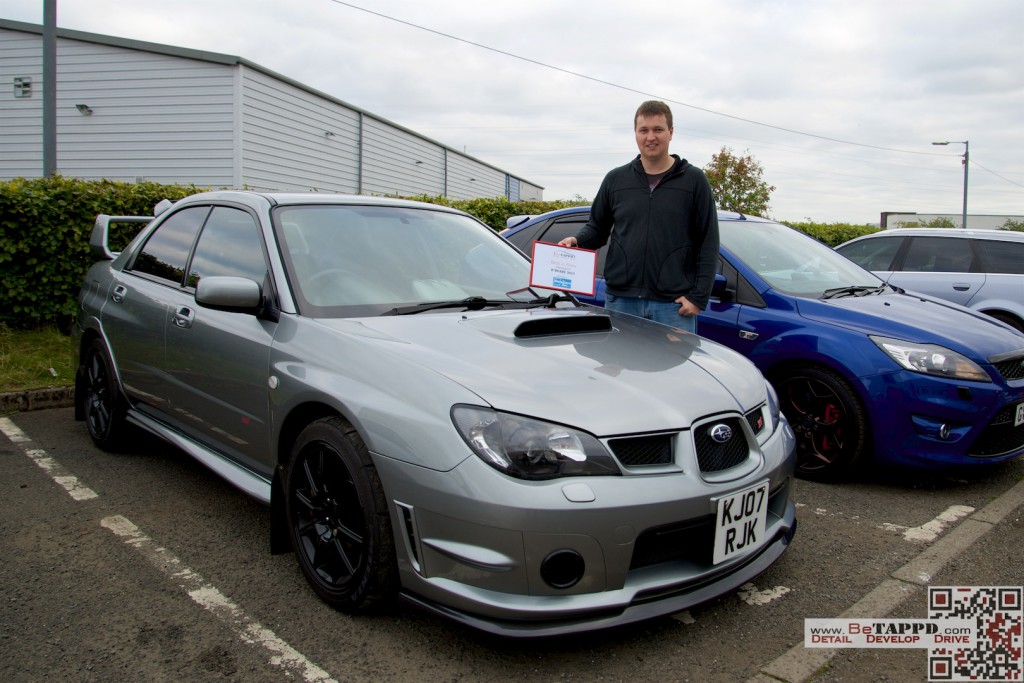Lewis took the Show 'n' Shine prize courtesy of The Detailers Box